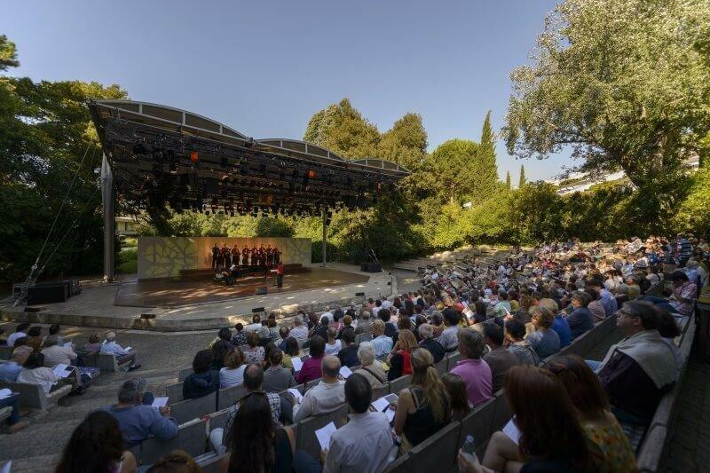 Amphitheatre, Gulbenkian