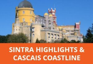 This small group tour offers guided tours of Pena Palace and Quinta da Regaleira as well as a coastal drive to cabo da Roca and free time in pretty Cascais