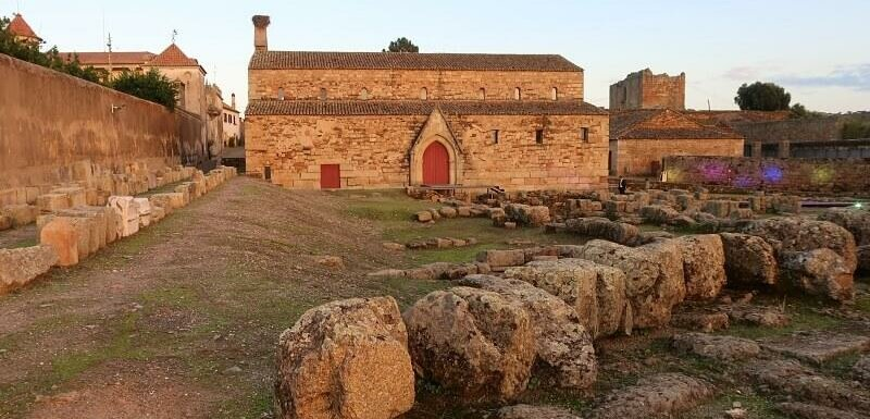 Santa Maria church and cathedral and Roman remains, Idanha-a-Velha