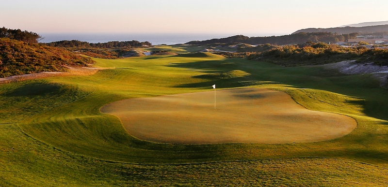 West Cliffs Links golf course, Silver Coast, Central Portugal