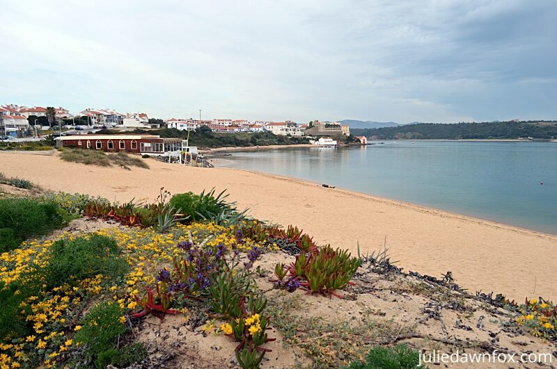 Vila Nova de Milfontes and river beach