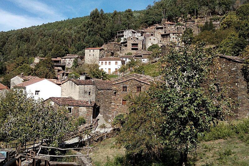 Candal schist village, Central Portugal