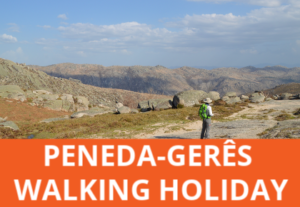 Self-guided walking holiday in the Peneda Geres National Park in Portugal