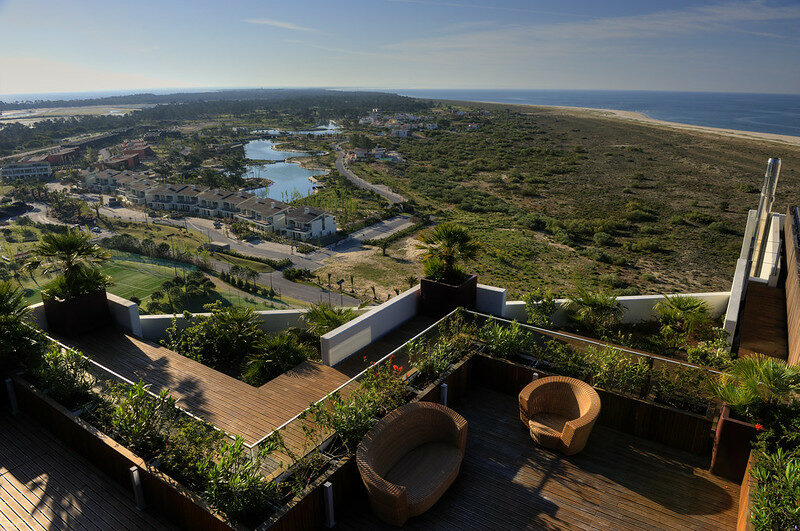 Ariel view of Troia Resort, Portugal