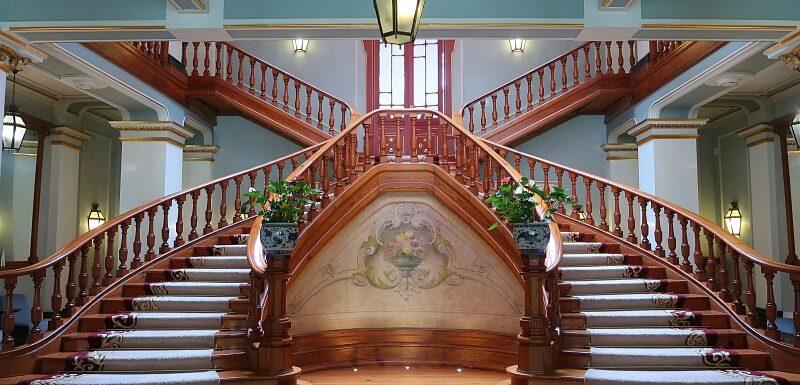 Staircase, Vidago Palace Hotel
