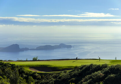 Santo da Serra golf course, Madeira. Photo by Peter Corden