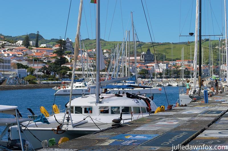 Horta Marina, Faial, Azores islands