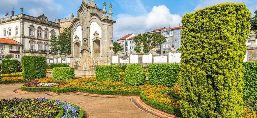 Jardim das Barrocas, Barcelos Portugal