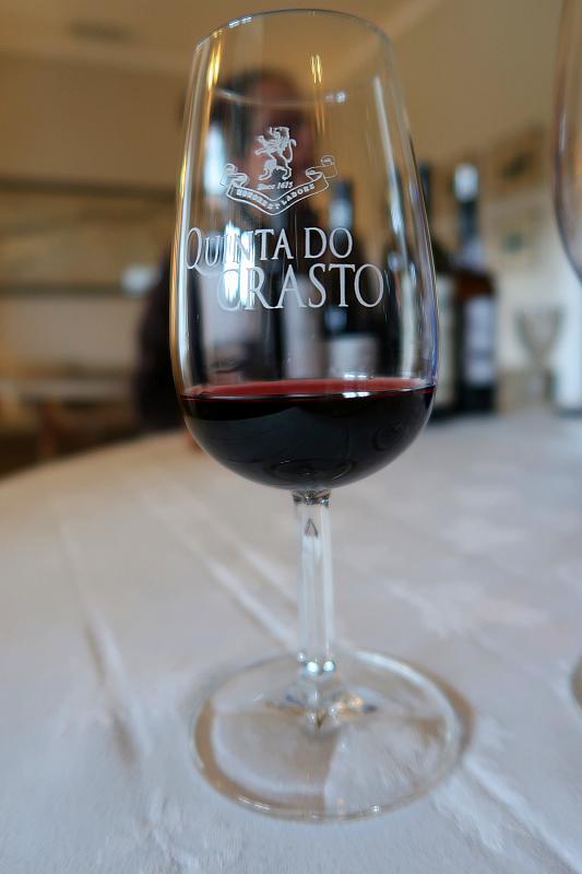 LBV port wine, Quinta do Crasto