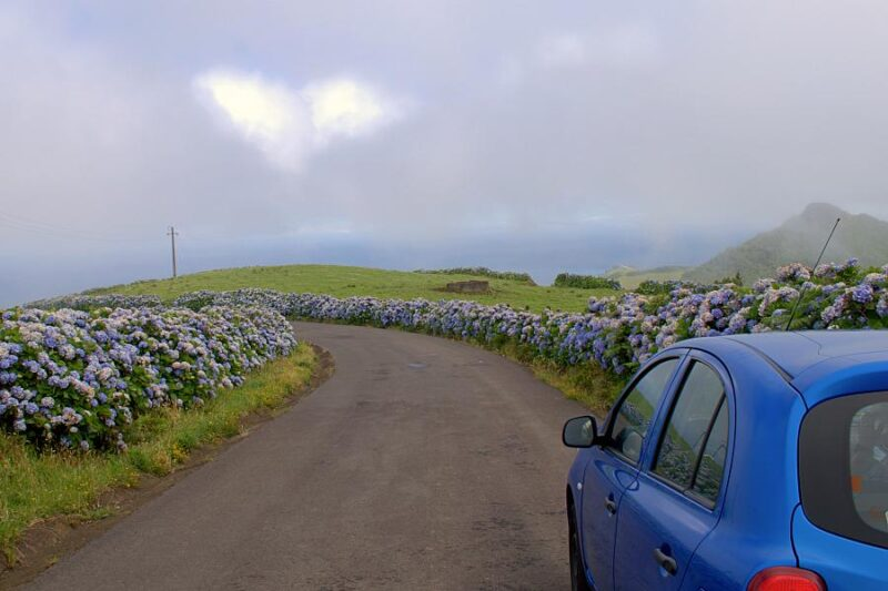 Road trip in Azores, Portugal