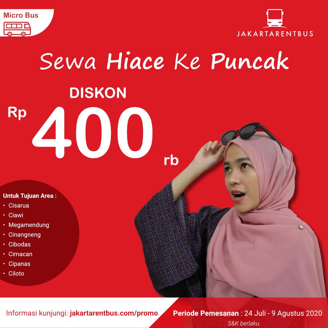 Jakartarentbus Promo Puncak