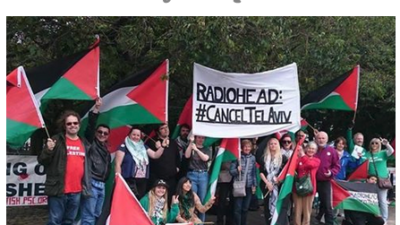 Radiohead protest