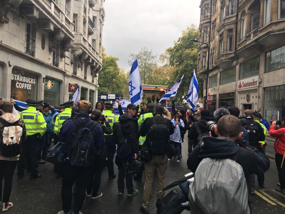 counter-demonstrators