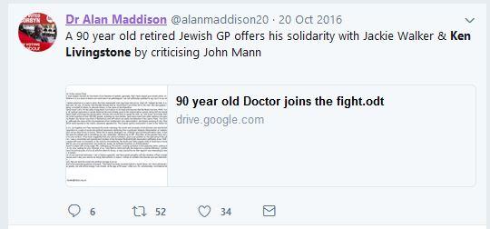 Alan Maddison, Labour