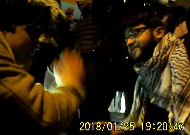 Yahya Abu Seido and Harry Markham