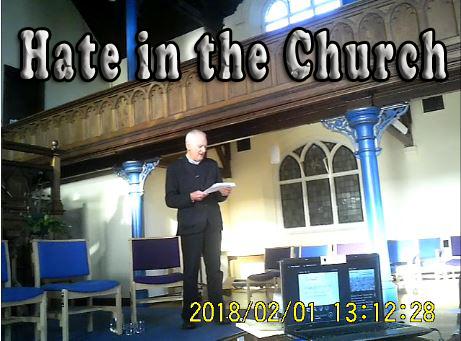 ICHAD hate in the church
