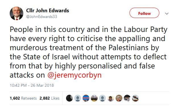 Cllr John Edwards Labour Party