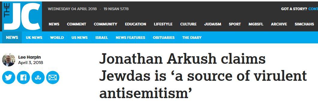 Jewdas as antisemites
