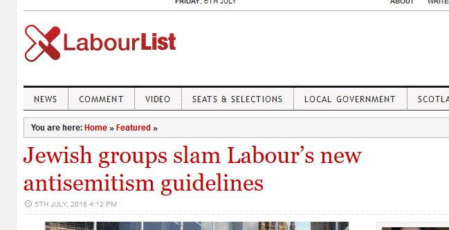 British Jews slam