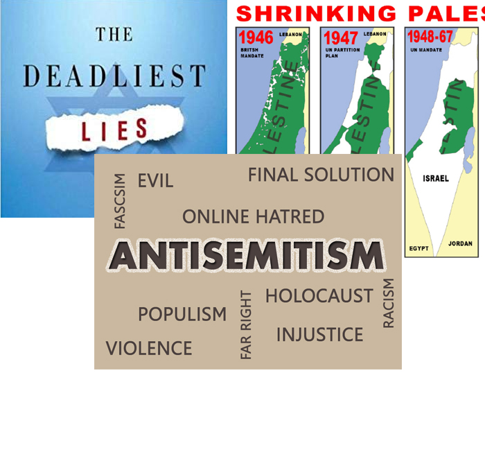 mainstream lies Israel