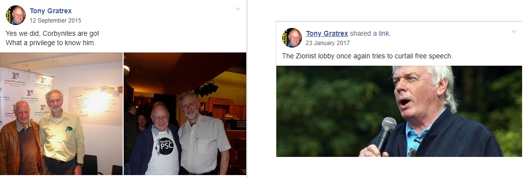 antisemitic tony gratrex