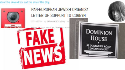 orthodox fake news letter rabbi