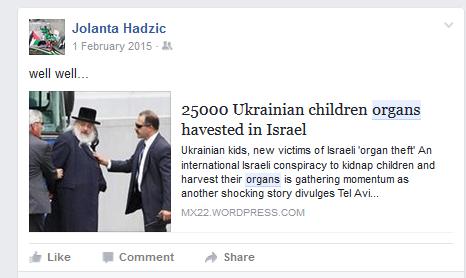 jolanta SJAZ Ukrainian children stolen organs