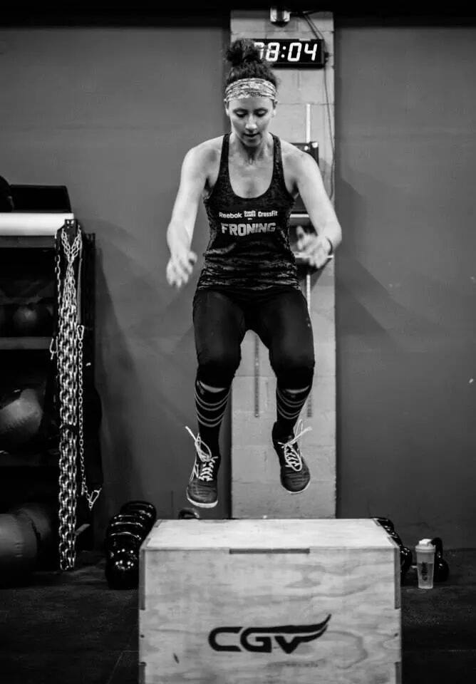 KJ Crossfit- Crossfit Open Box Jumps