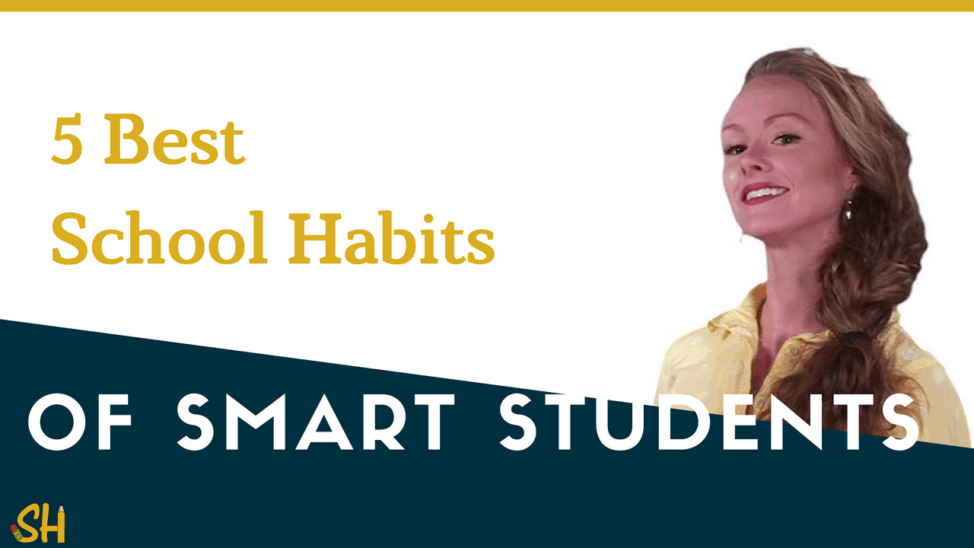 5 best school habits of smart students