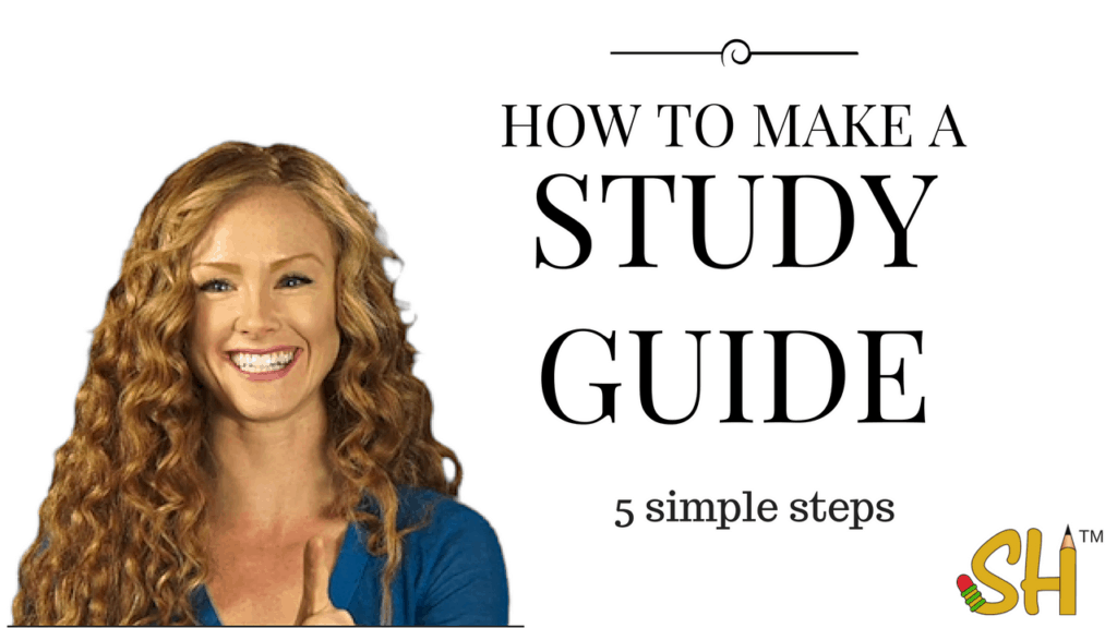 how to make a study guide