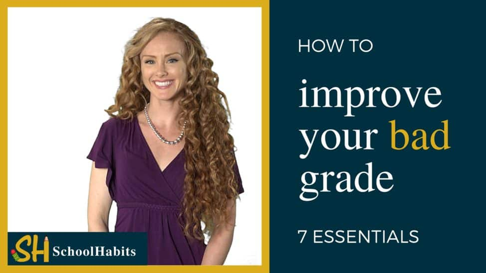 how to improve a bad grade
