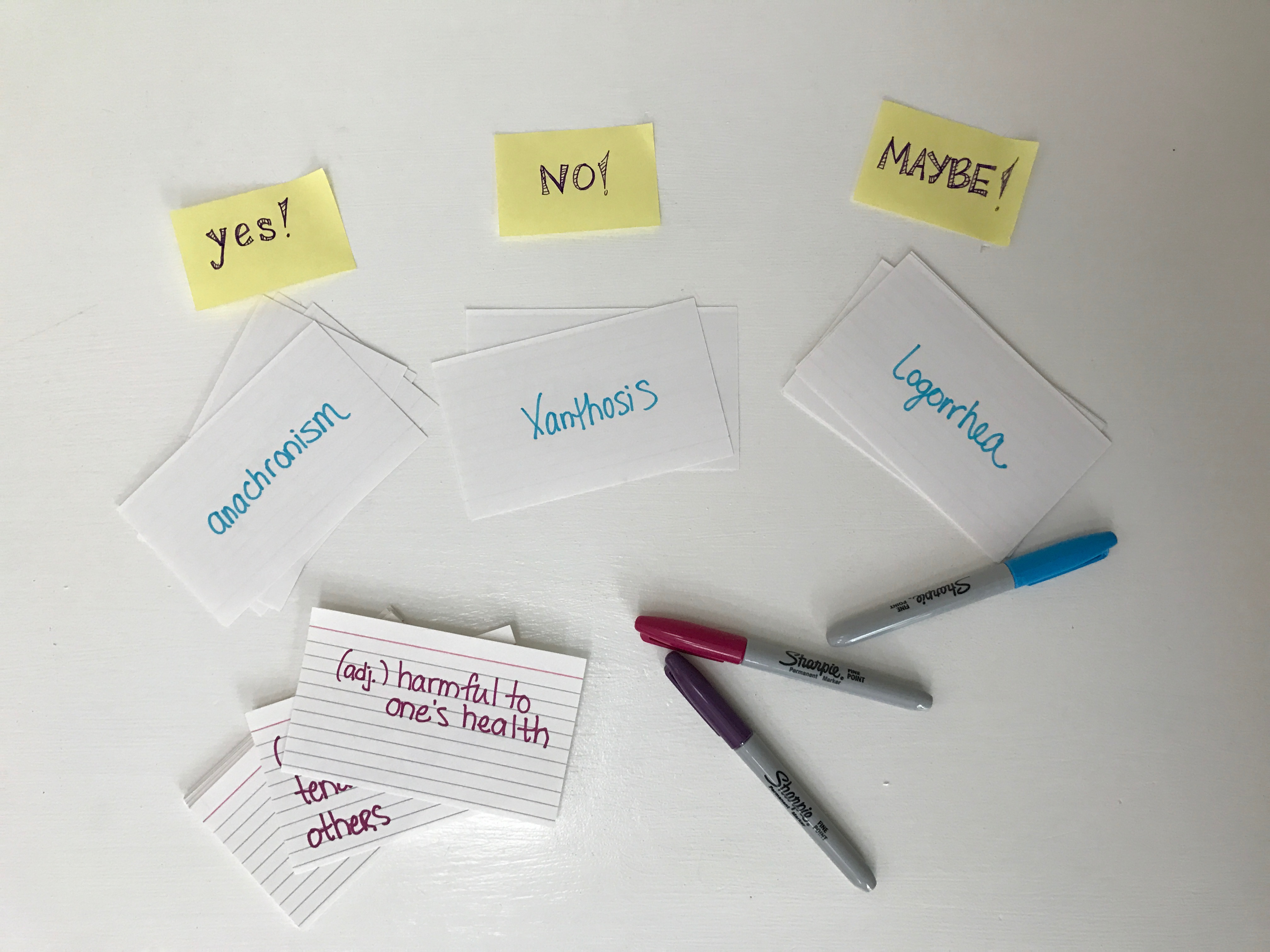 study with flashcards