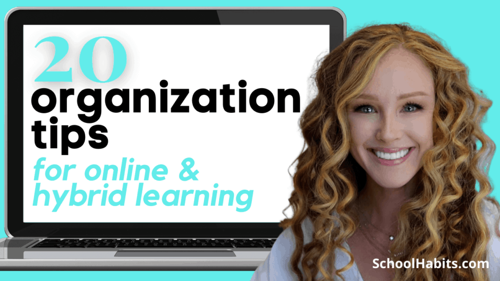 organization tips for online learning