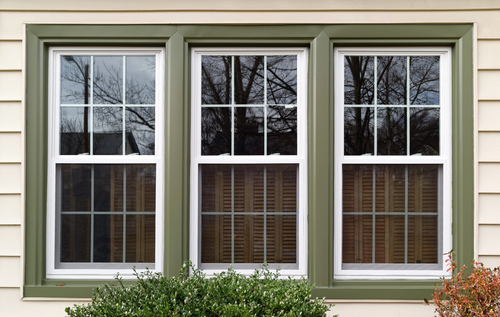 photo of 3 replacement double pane windows