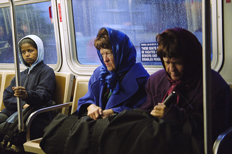 Hooded Triplets from the series Through the Eyes of the 22 by Peikwen Cheng