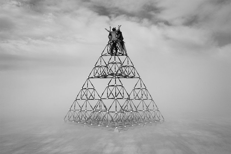 Summiting from the series of Lost and Found by Peikwen Cheng
