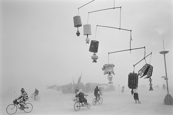 Lamp Mobile from the series Lost and Found by Peikwen Cheng