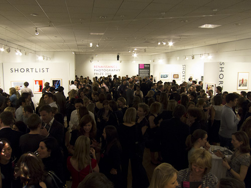 Renaissance Photography Prize - Gala Event - Mall Galleries, London