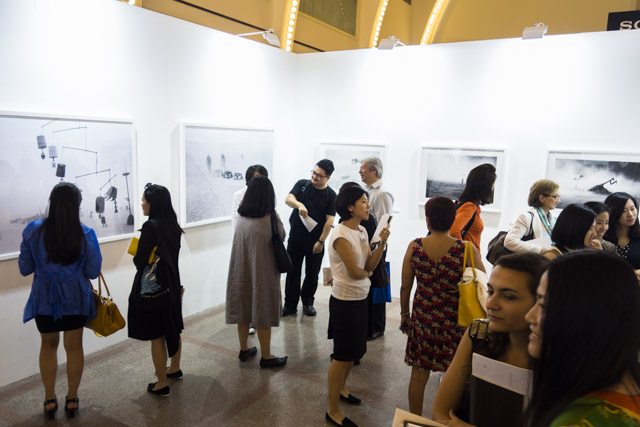 Photo Shanghai 2014, MD Gallery with Peikwen Cheng