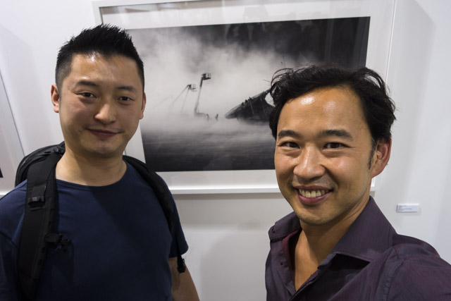 Photo Shanghai 2014, MD Gallery with Peikwen Cheng and Jimi Gu