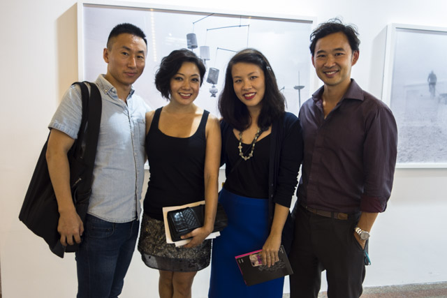 Photo Shanghai 2014, MD Gallery with Peikwen Cheng, Simon Wang, Philana Woo, Stephanie Tung