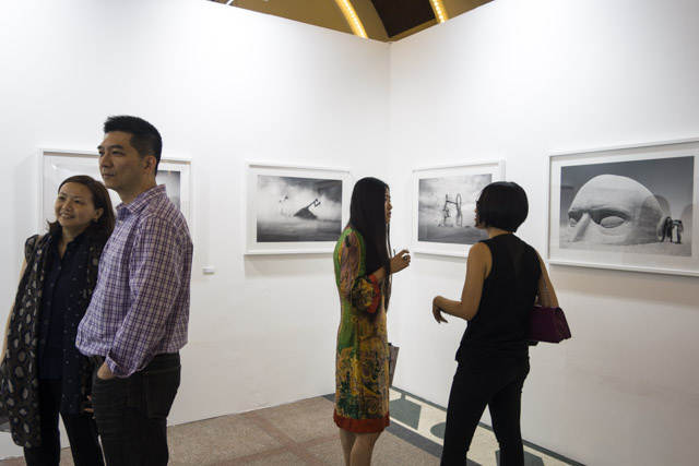 Photo Shanghai 2014, MD Gallery with Peikwen Cheng and Liana Cheung