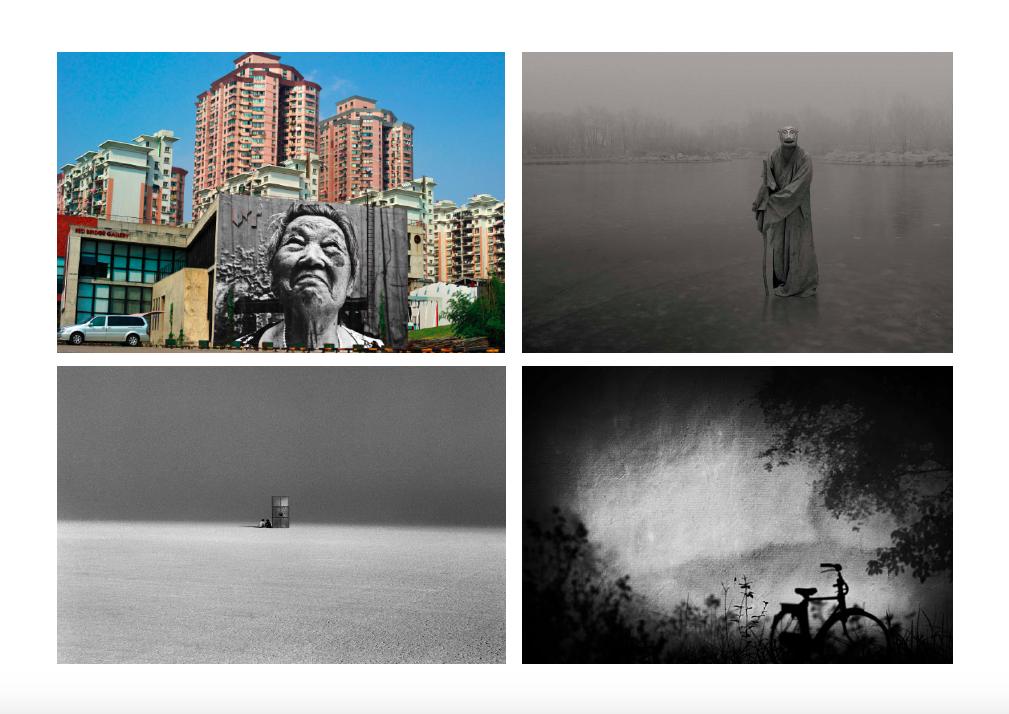 ParisPhoto 2014 - Galerie Magda Danysz with JR, Huang Xiaoliang, Feng Fangyu, PeikwenCheng