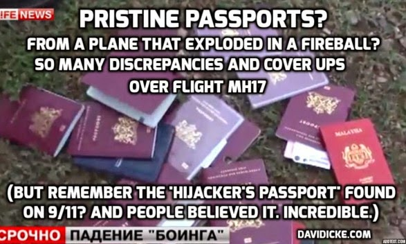 pristine+passports+mh17