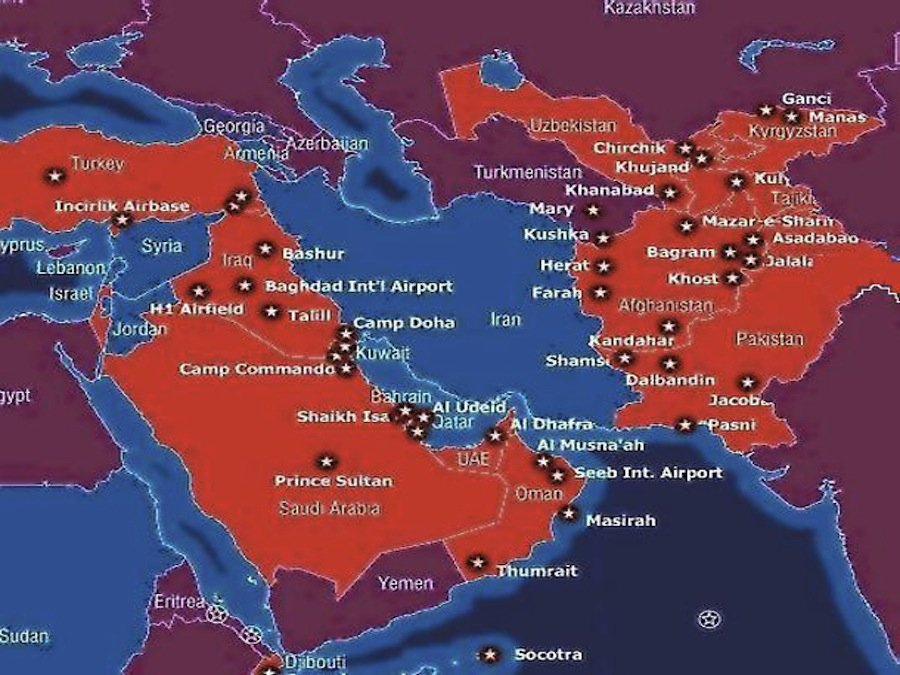 US Military Bases In The Middle East. The Number Has Exploded Over The Past Decade. US Military Bases In The Middle East.