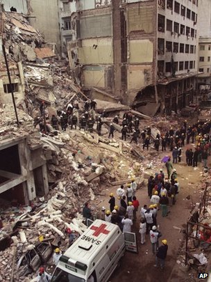 Eighty-five people died in the 1994 bombing