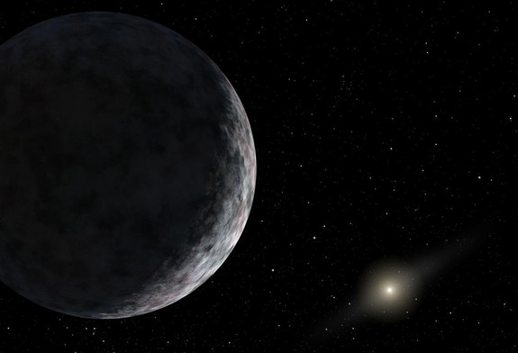 Extreme Trans-Neptunian Objects: Two or more unknown planets could exist beyond the orbit of Pluto in our solar system, new research suggests. Credit: NASA/JPL-Caltech