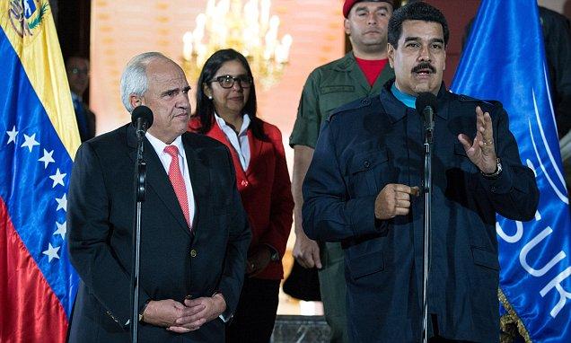 VENEZUELA-MADURO-SAMPER