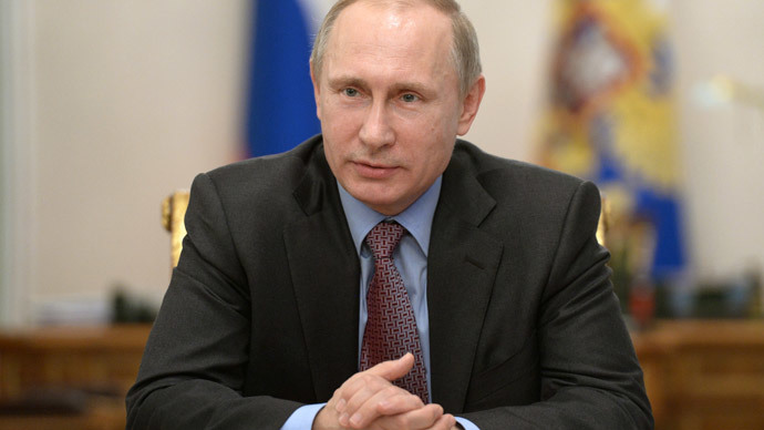 Russian President Vladimir Putin.(RIA Novosti / Aleksey Nikolskyi)