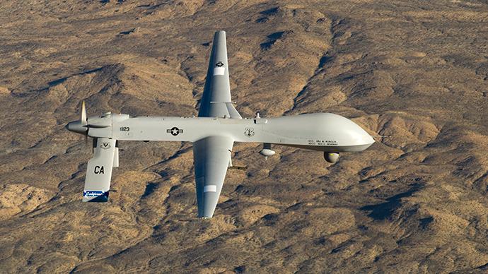 A US Air Force MQ-1 Predator drone (Reuters / Effrain Lopez)